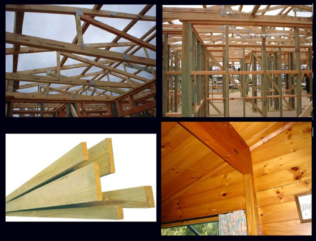 Timber nz timber for sale for Timber trusses for sale